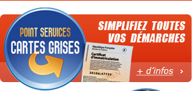 Point services carte grise, en savoir plus